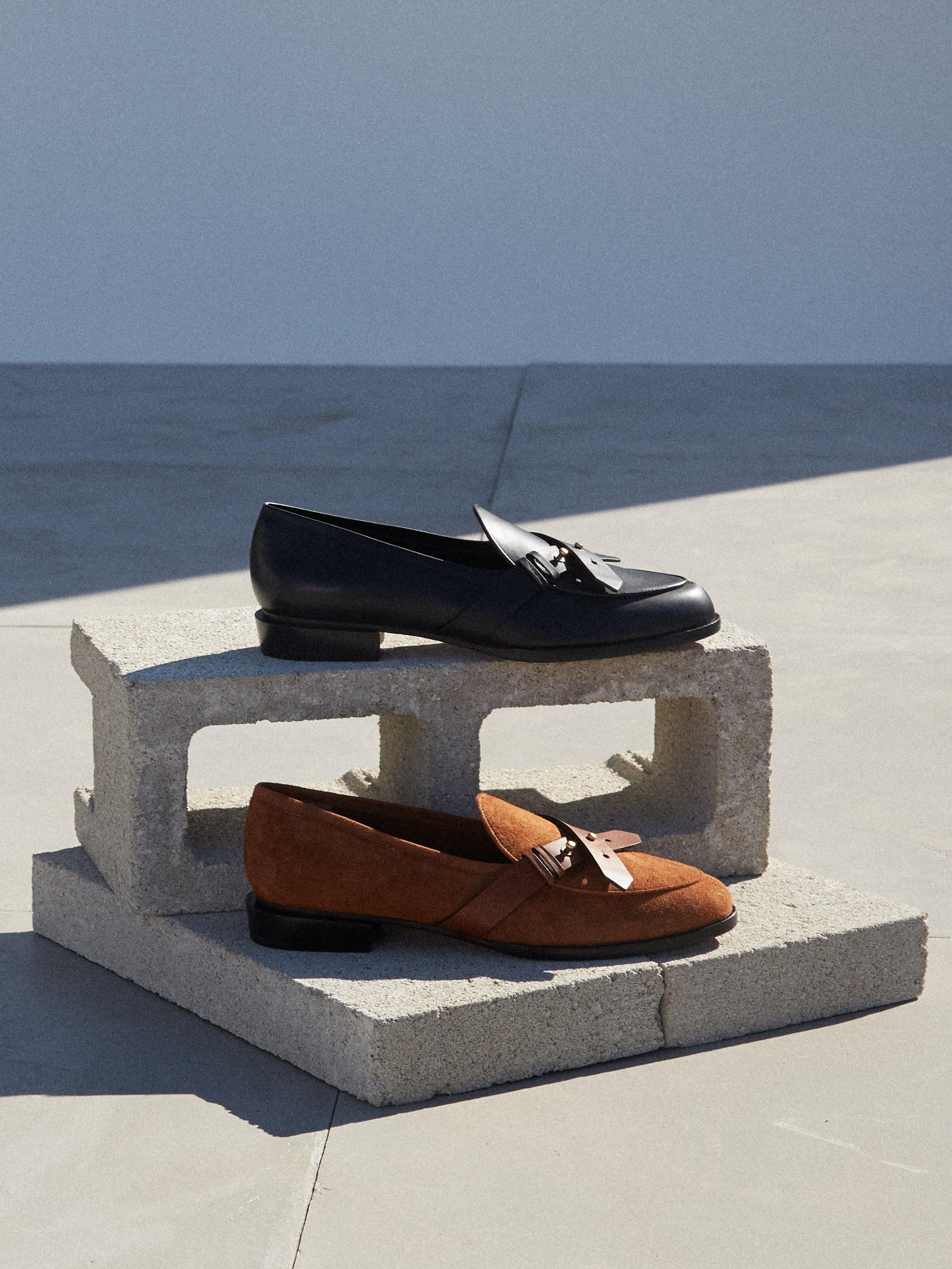 Le Larchmont Loafer -- Noir