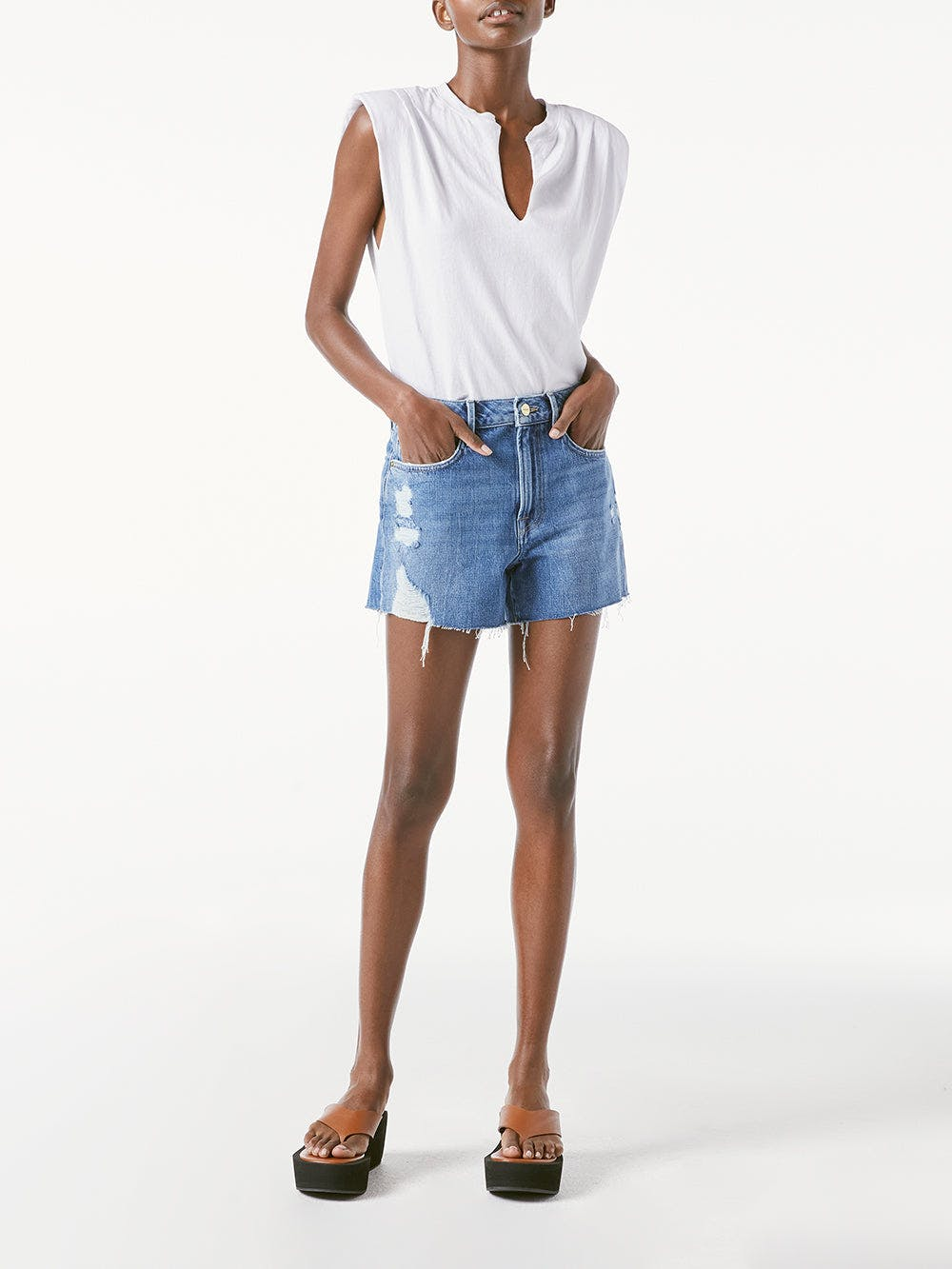 shorts front full body view 2