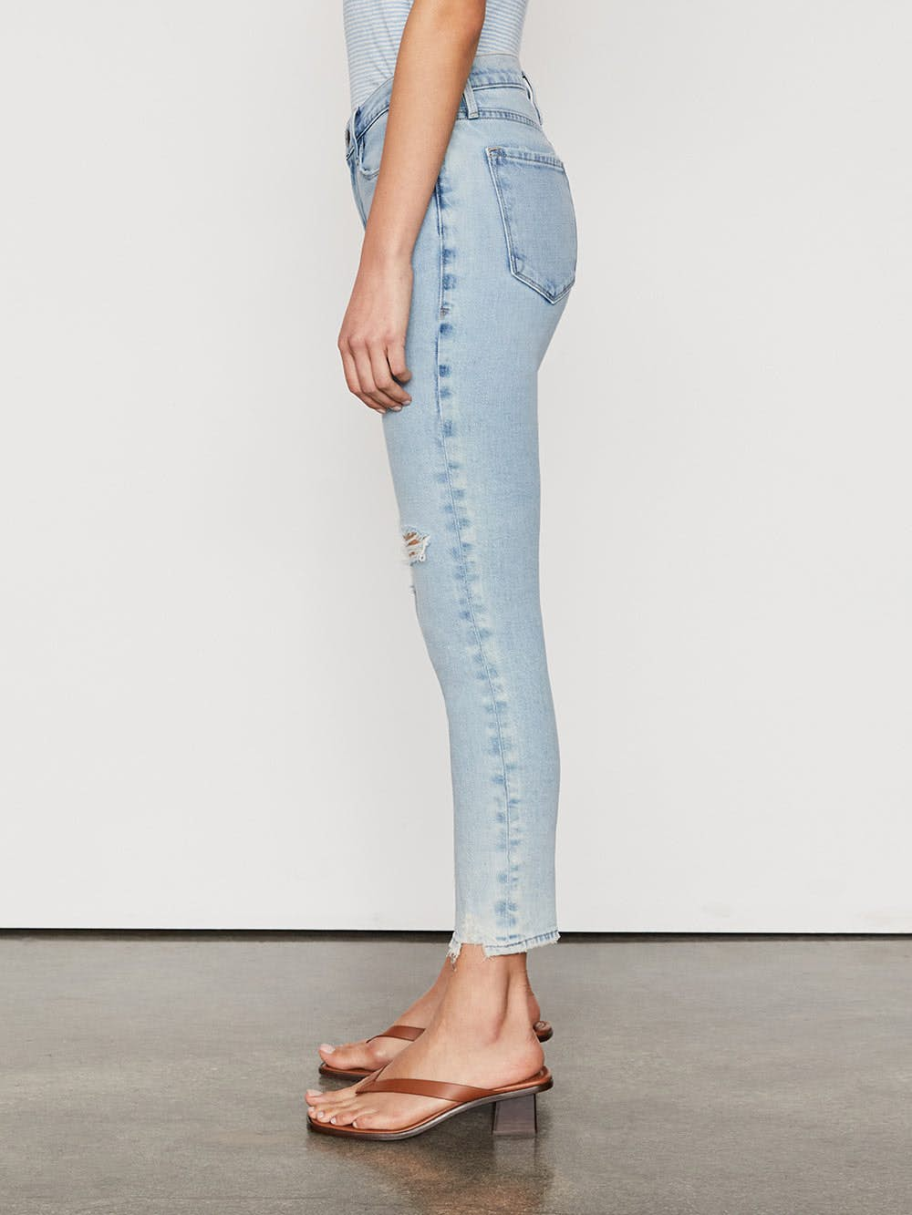 jeans side view