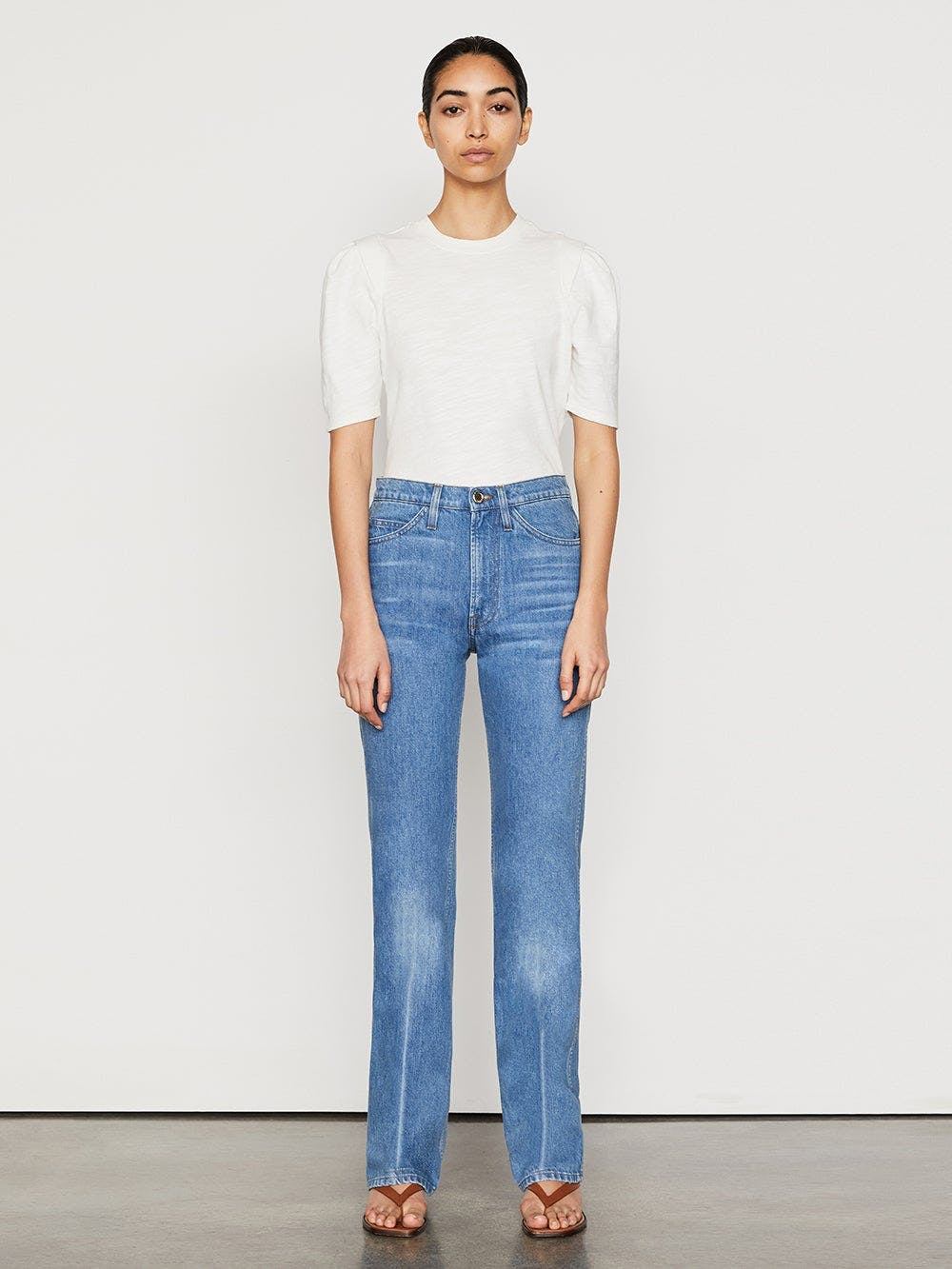 jeans front full body view