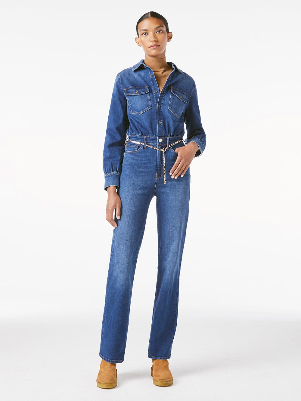 jumpsuit front full body view 2