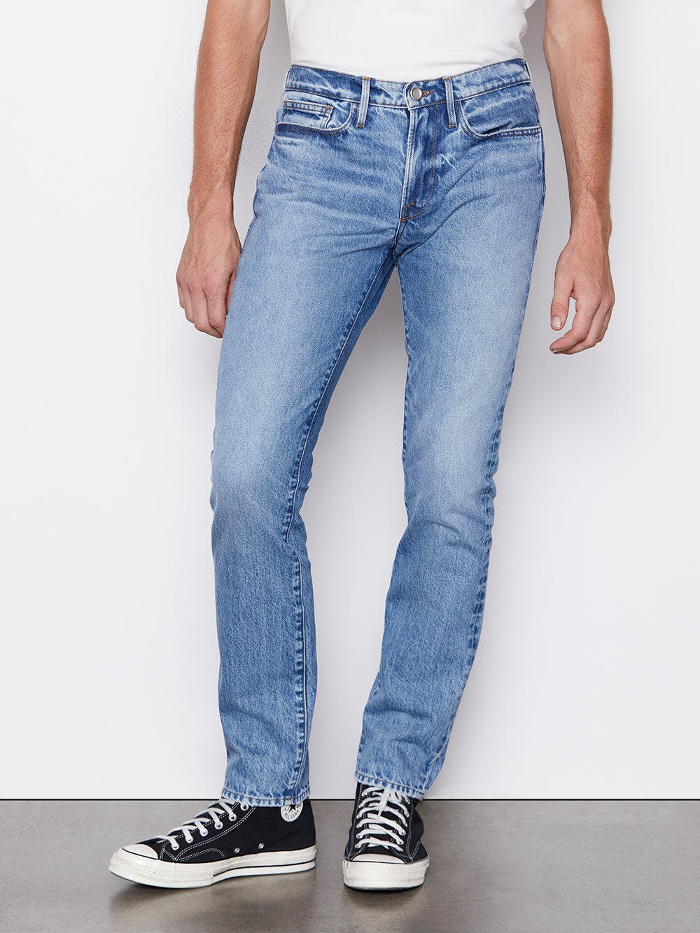 jeans front view
