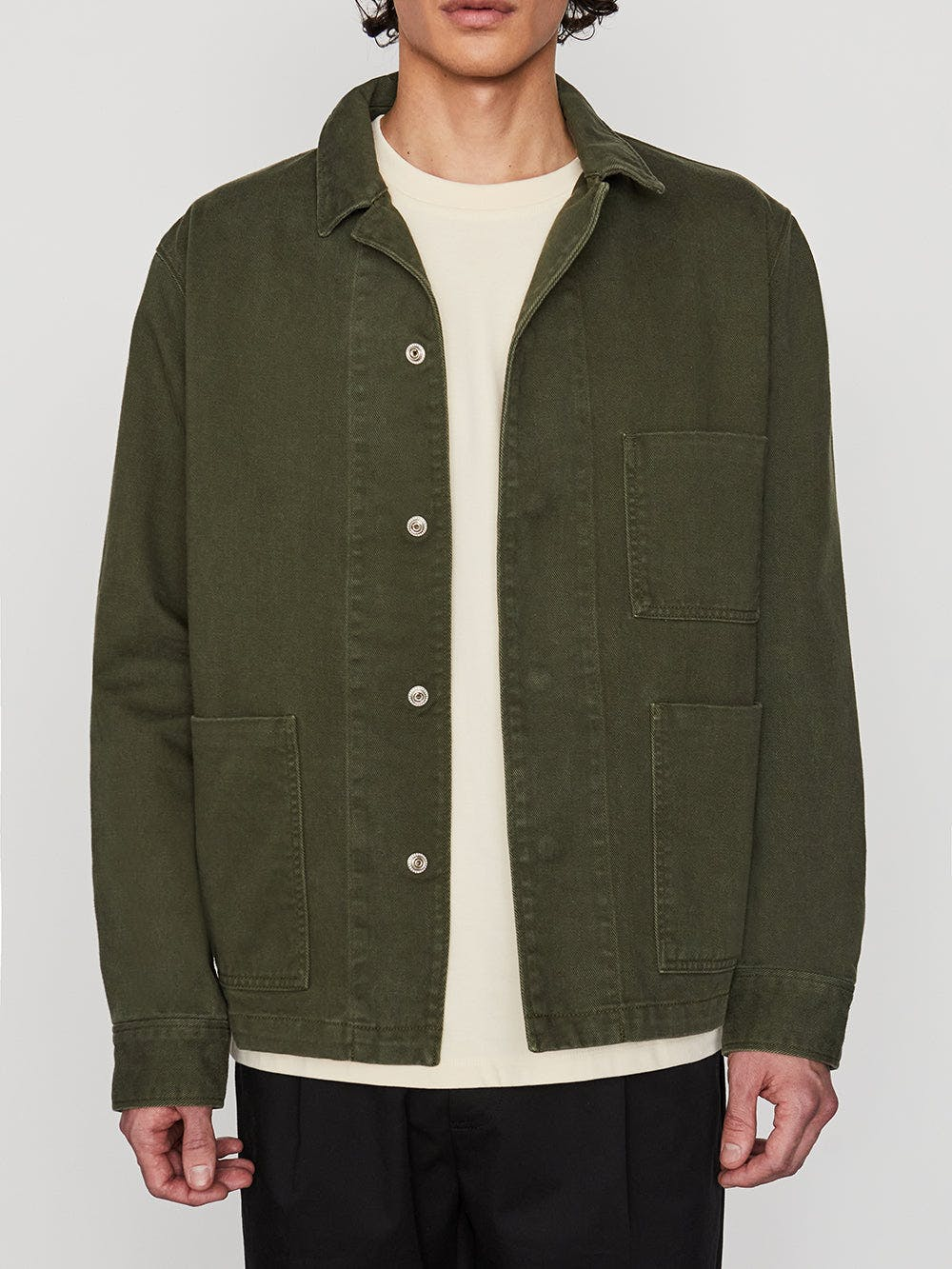 jacket front detail view
