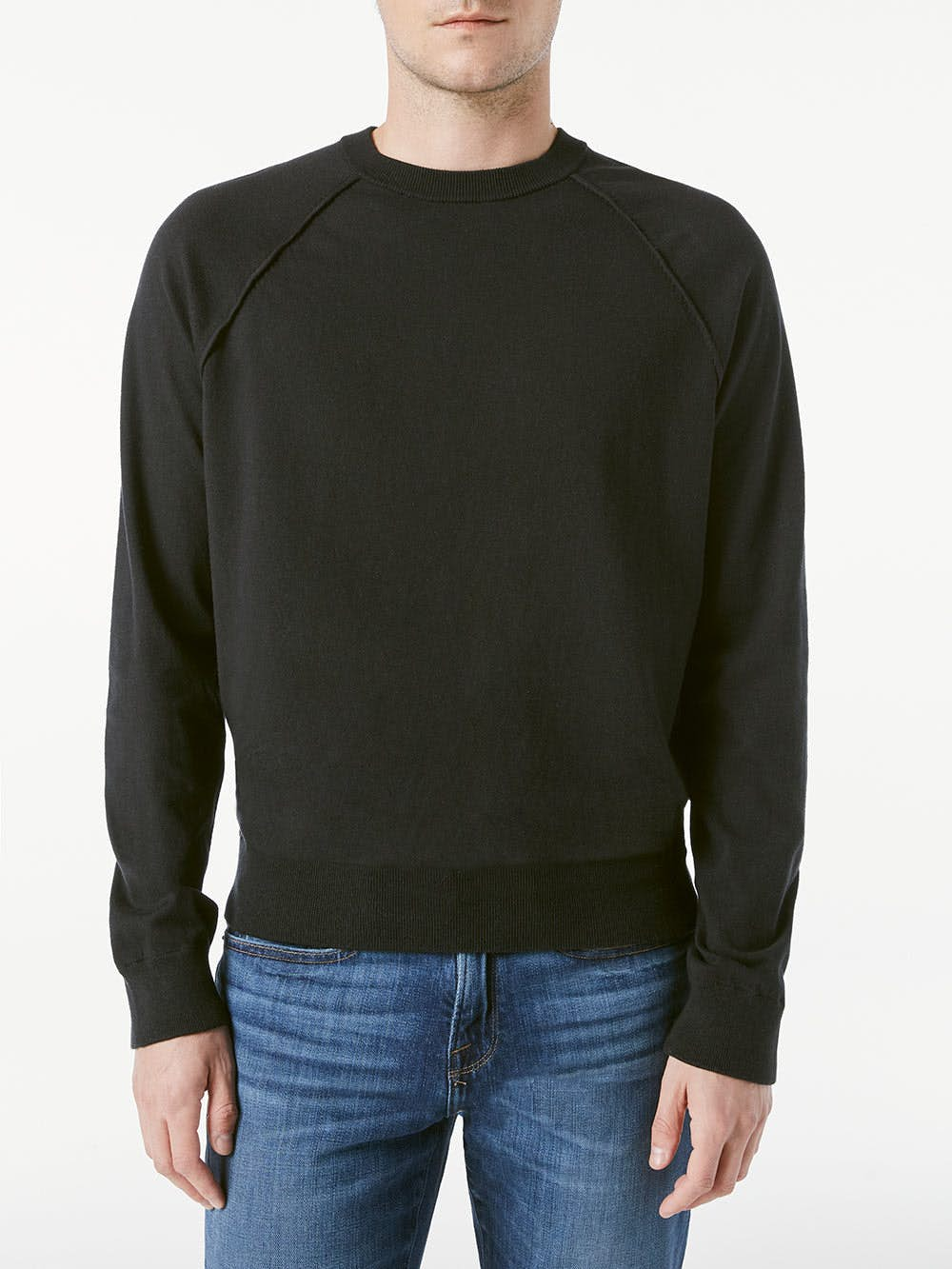 sweater front view