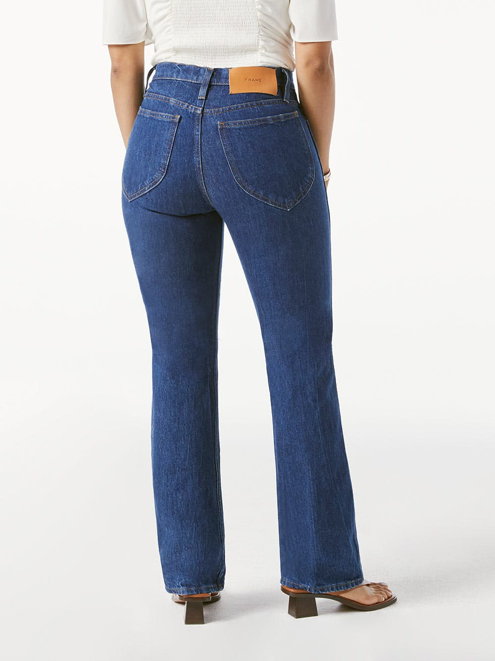 jeans back view