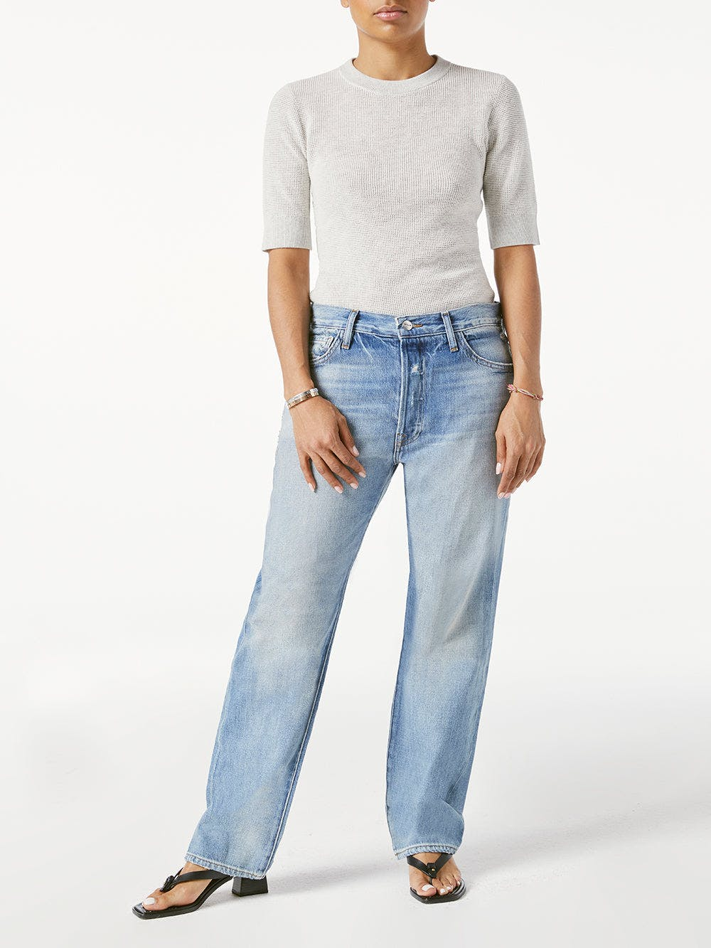 jeans front full body view 2