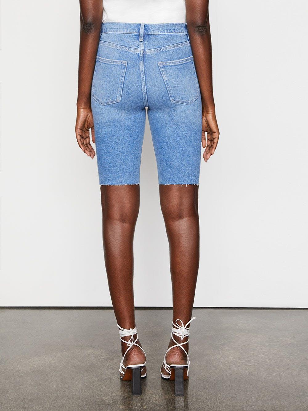 shorts back view