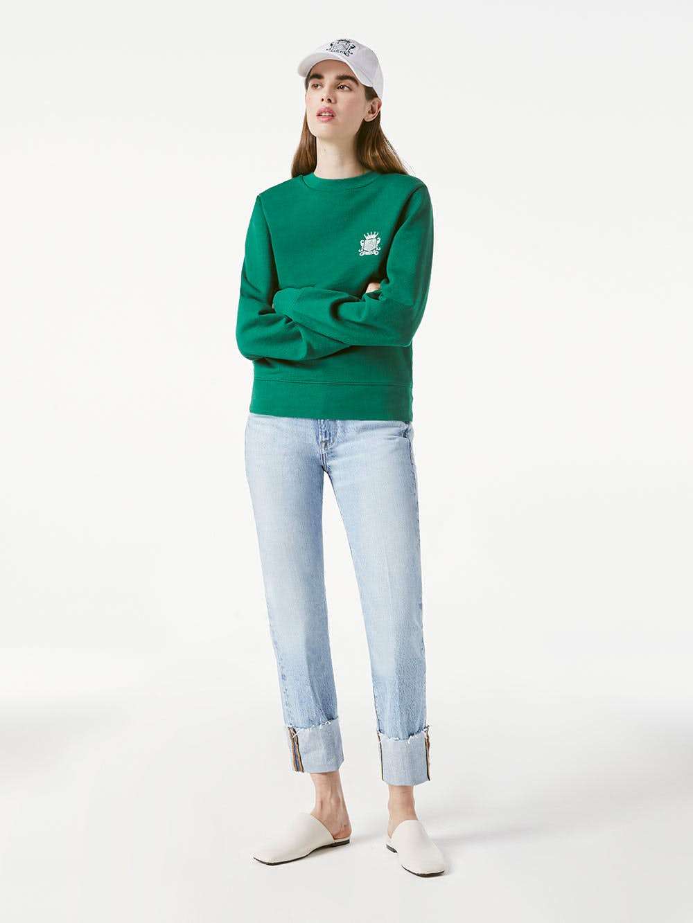 sweater front full body view 2