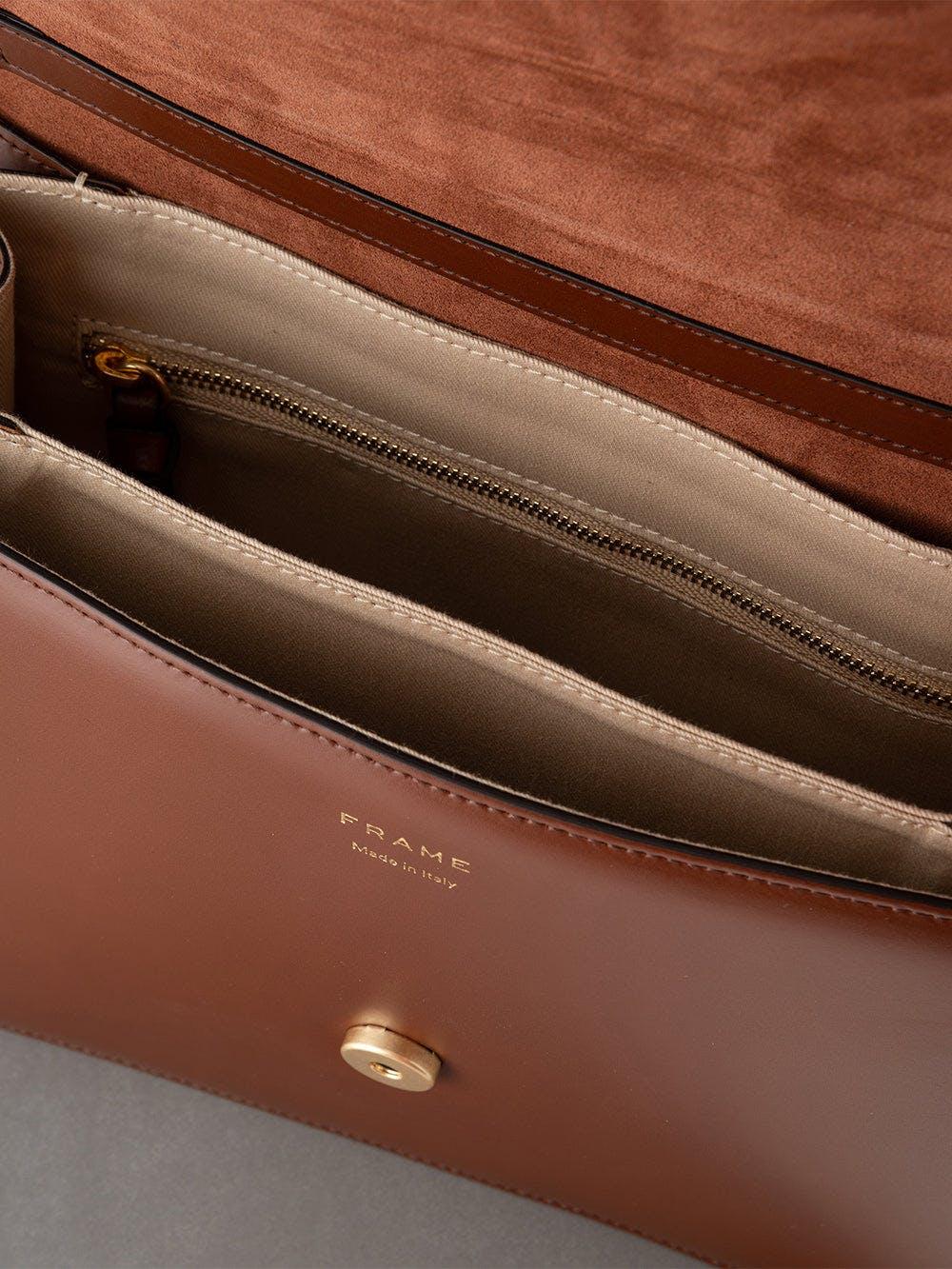 handbag inside view