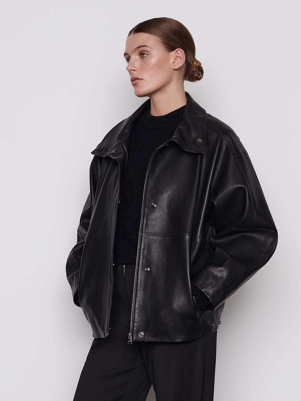 jacket side view