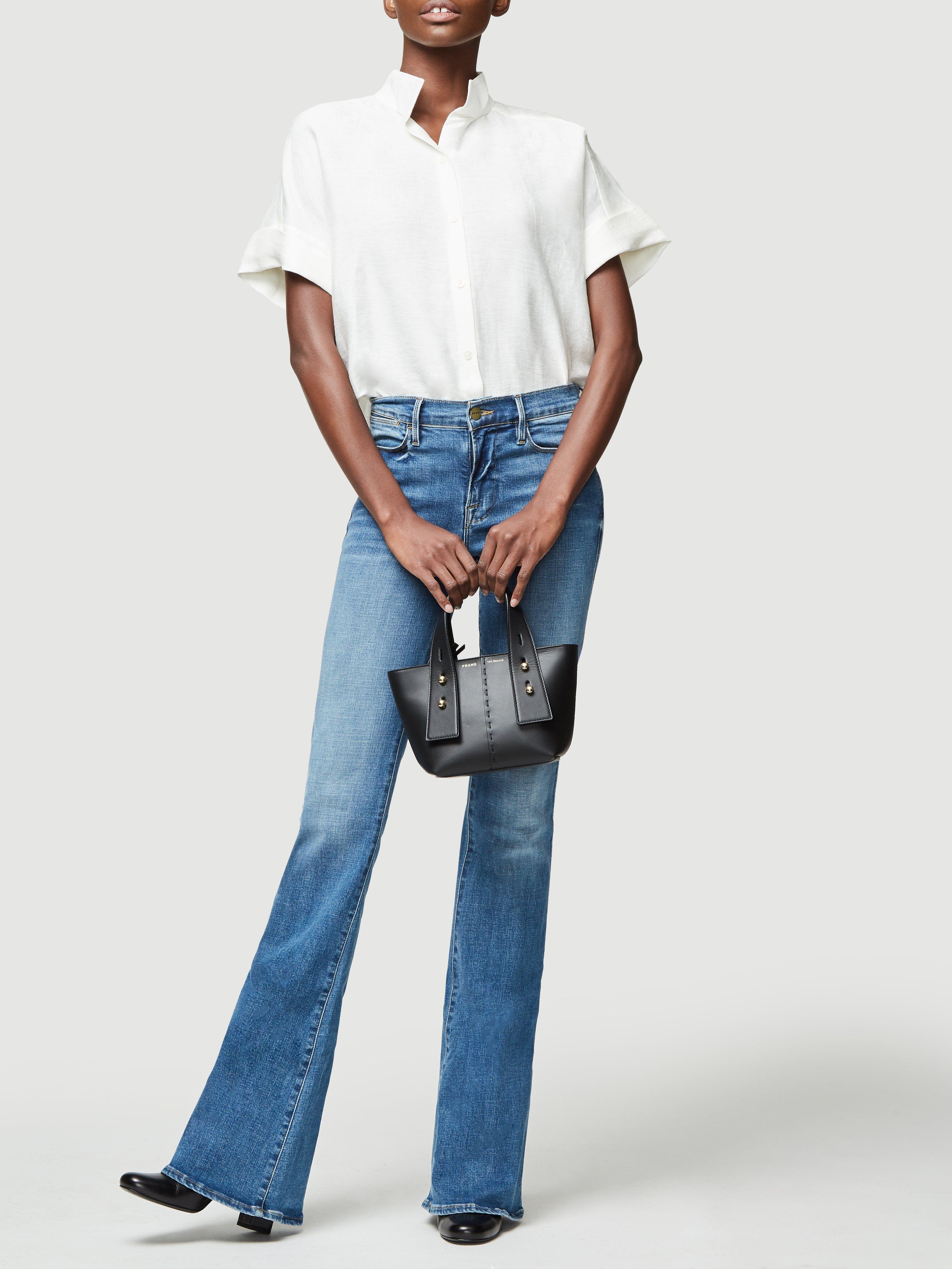 Handbag on model