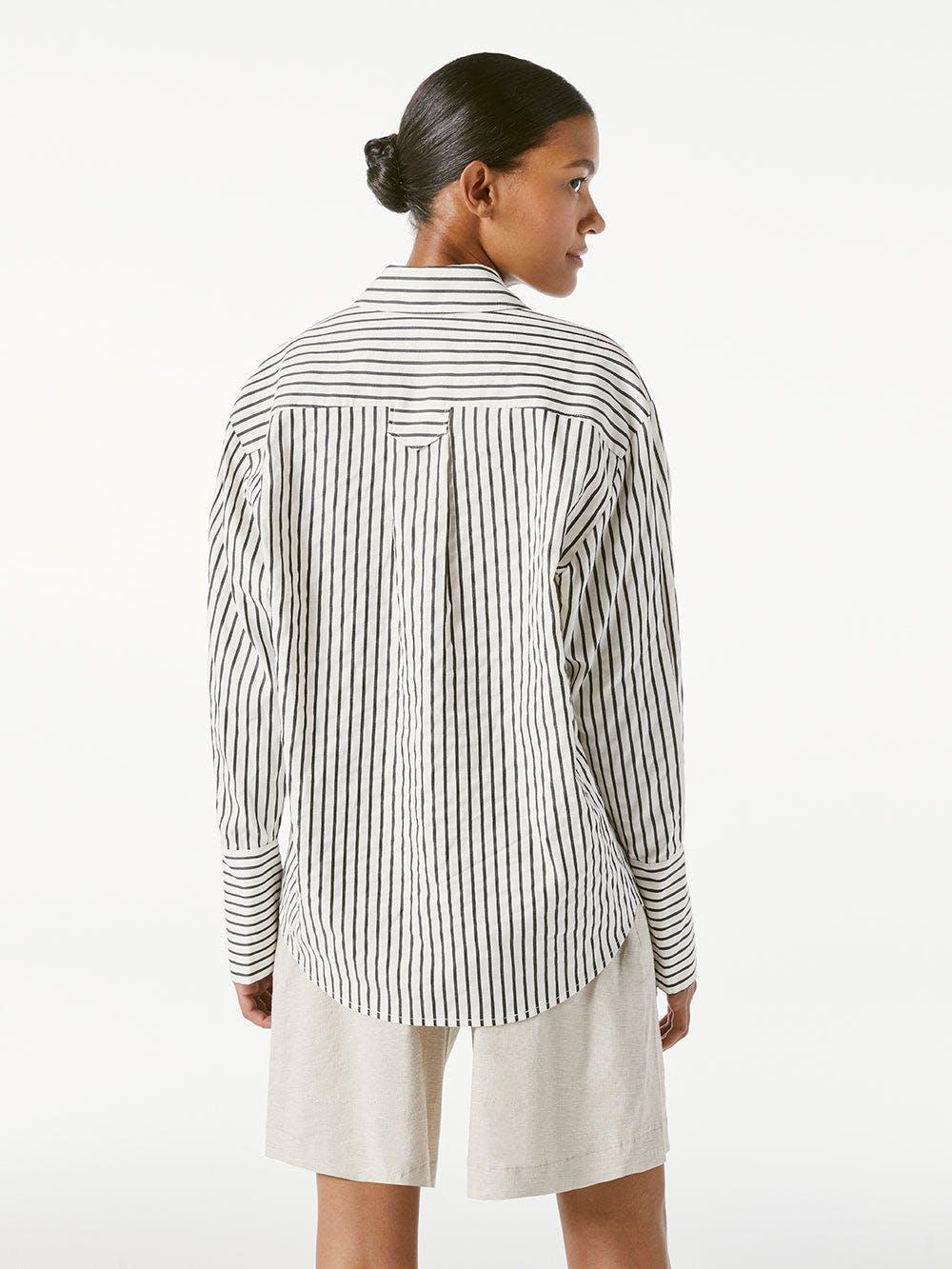 Whitney Popover -- Blanc Multi
