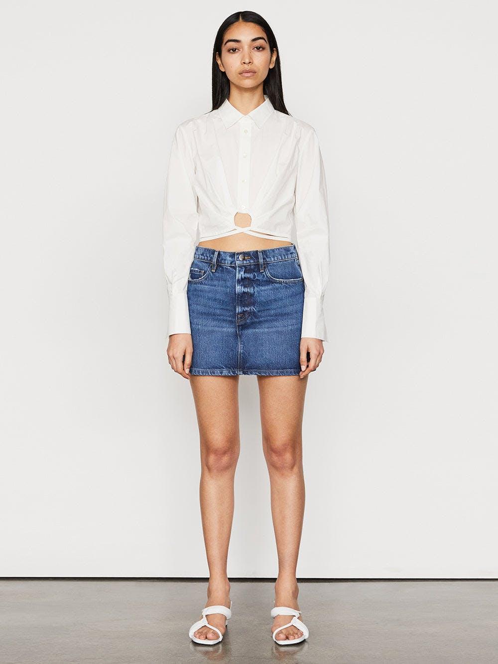 skirt front full body view alt:hover
