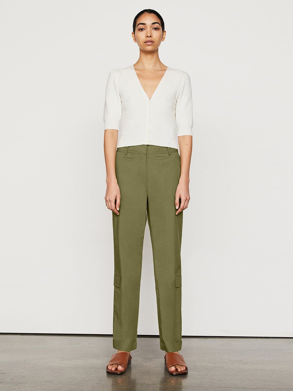 pant front full body view