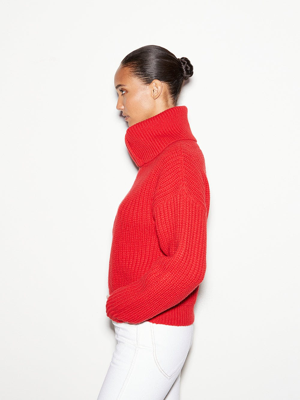 sweater side view