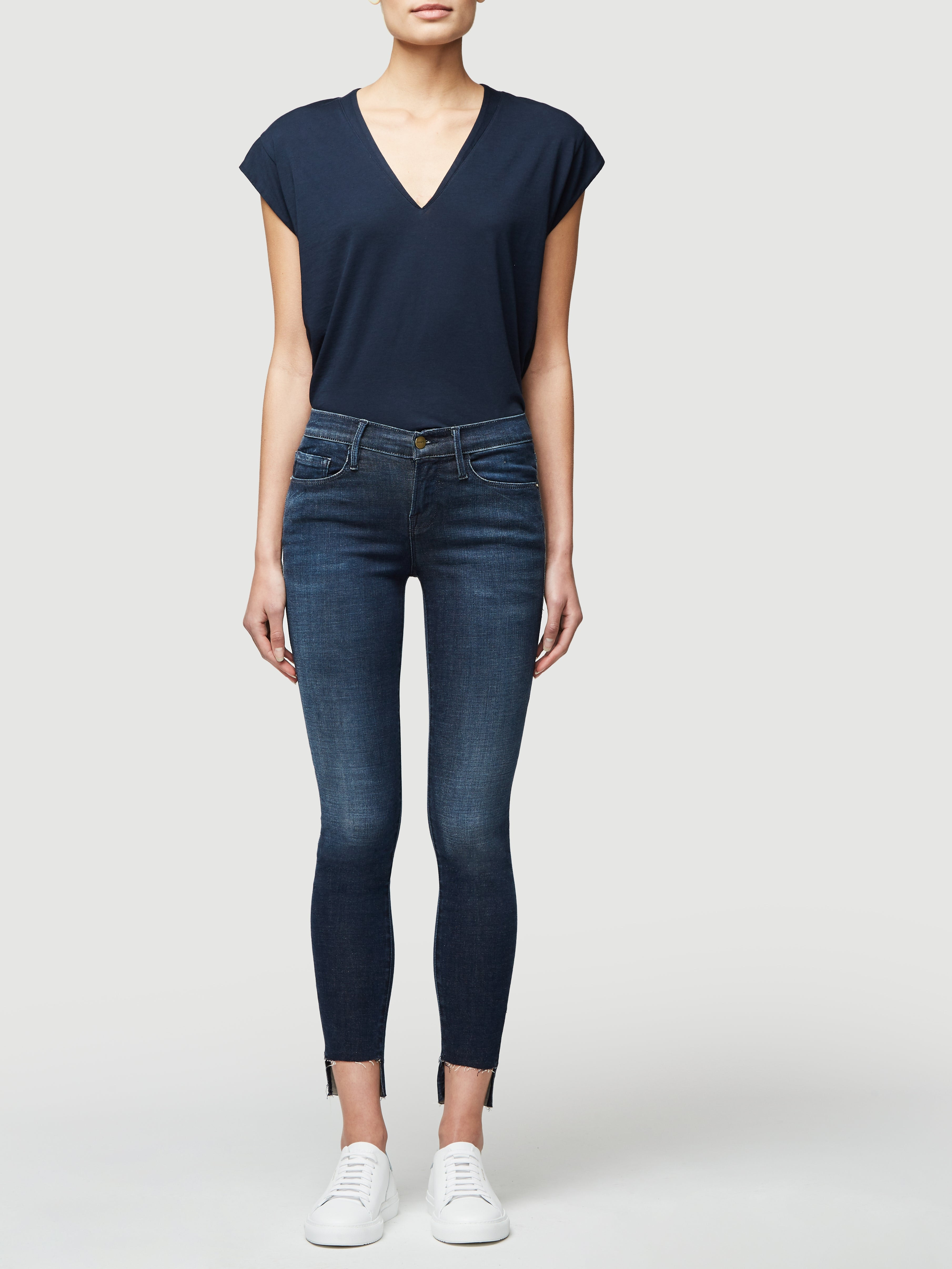 Tee front full body view